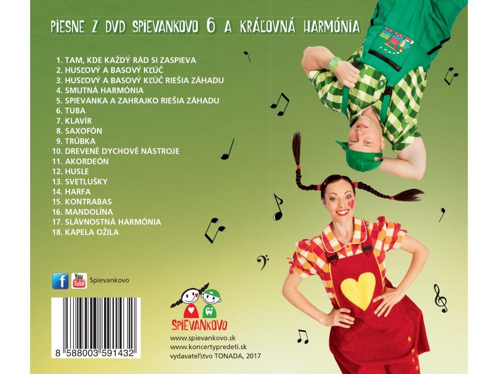 CD - M. Podhradská a R. Čanaky - Spievankovo - piesne z DVD ... f4d641a6462