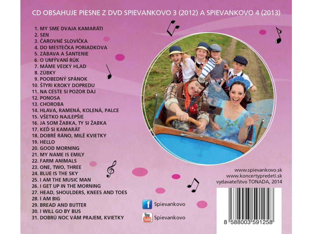 ... CD - M. Podhradská a R. Čanaky - Spievankovo - piesne z DVD Spievankovo  ... 6ba6b63e68a