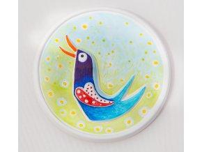 3D omaľovánka - Vtáčik